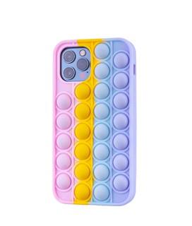 Чехол антистресс Pop it для телефона Apple iPhone 12, iPhone 12 Pro