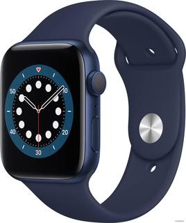 Умные часы Apple Watch Series 6 44 мм (алюминий синий/темный ультрамарин) (57151)