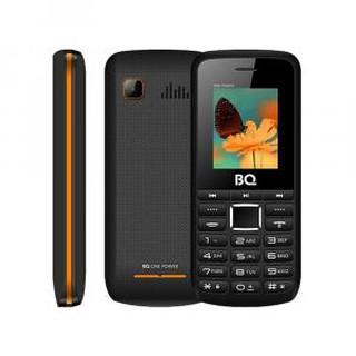 Кнопочный телефон BQ 1846 One Power Black+Orange