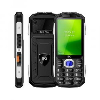 Кнопочный телефон BQ 3586 Tank Max Black