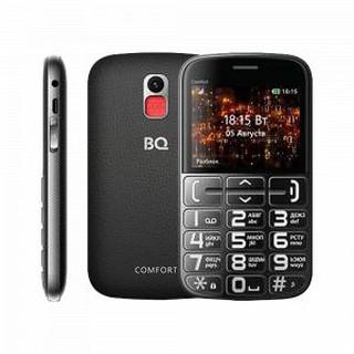 Кнопочный телефон BQ 2441 Comfort Black+Silver