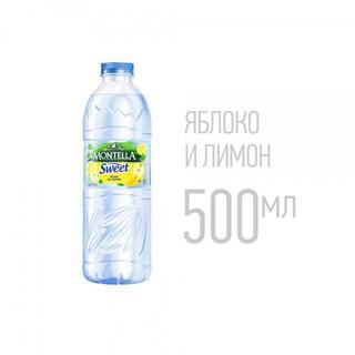 Вода Montella Sweet - яблоко и лимон, 500 мл