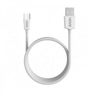 USB кабель Vidvie CB401 Lightning White