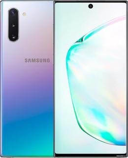 Смартфон Samsung Galaxy Note10 N970 8GB/256GB Dual SIM Exynos 9825 (аура) (62064)
