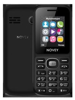Телефон Novey 110 Black