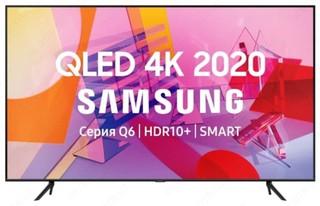 """Телевизор QLED Samsung QE55Q60TAU 55"""" (2020)"""