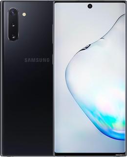 Смартфон Samsung Galaxy Note10 N970 8GB/256GB Dual SIM Exynos 9825 (черный) (62063)