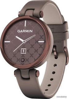Умные часы Garmin Lily (темно-бронзовый/кожаный ремешок) (63489)
