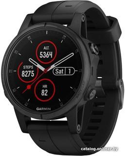 Умные часы Garmin Fenix 5S Plus Sapphire (черный) (50796)