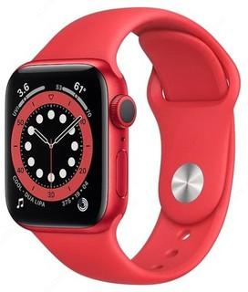 Умные часы Apple Watch Series 6 GPS 40mm (Red,Blue)