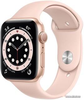 Умные часы Apple Watch Series 6 44 мм (алюминий золотистый/розовый песок) (57150)