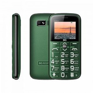 Кнопочный телефон BQ 1851 Respect Green