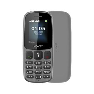Телефон Novey 107 Gray