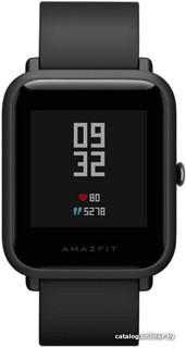 Умные часы Xiaomi Amazfit bip (черный) (36294)