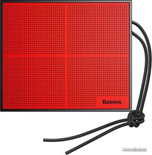 Беспроводная колонка Baseus Encok E05 (черный/красный) (36399)