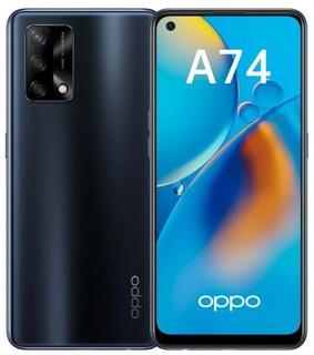 Смартфон OPPO A74 4/128GB Black
