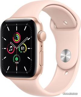 Умные часы Apple Watch SE 44 мм (алюминий золотистый/розовый песок) (61957)