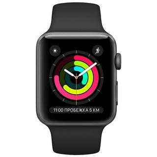 Смарт часы Apple Watch Series 3 42mm (GPS) White, Black