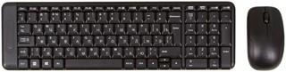 Клавиатура и мышь Logitech MK220