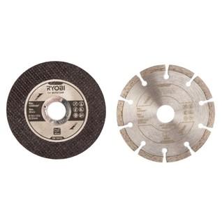 Набор дисков Ryobi RAK6AGD125 для УШМ 125х22.2 мм