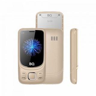 Кнопочный телефон BQ 2435 Slide Gold