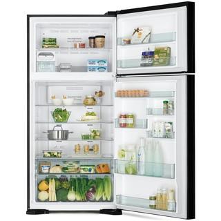 Холодильник Верхняя морозилка Hitachi R-VG660PUC7 GBK