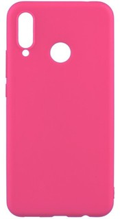 Чехол Soft Touch в Коробке Для Samsung Galaxy A20S Pink