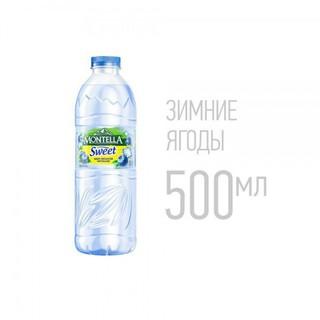 Вода Montella Sweet - зимние ягоды, 500 мл