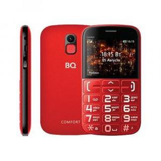 Кнопочный телефон BQ 2441 Comfort Red+Black