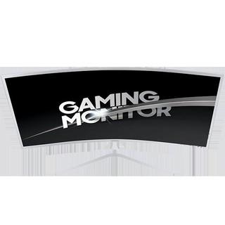 "Samsung - 32"" C32JG51FDIXCI LED Curved Monitor, 4mc, 144hz, FHD (1920x1080), HDMI, Silver White"