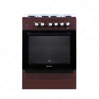Газовая плита Shivaki 6402 ГП (коричневая)