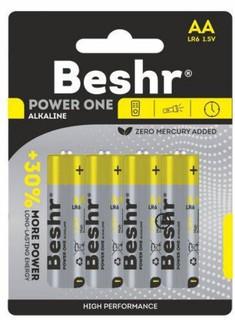 Батарея BESHR POWER ONE AA 4B