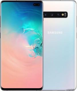 Смартфон Samsung Galaxy S10+ G9750 8GB/512GB Dual SIM SDM 855 (белый) (62069)