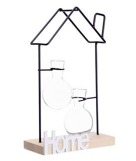 "Декоративная подставка ""Home"" с 2 колбами ( 30 см)"