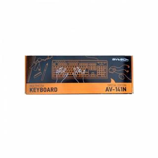 Клавиатура AVTECH AV-K141 ps/2 Multimedia