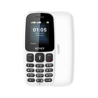 Телефон Novey 107 White