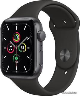 Умные часы Apple Watch SE 44 мм (алюминий серый космос/черный спортивный) (61958)