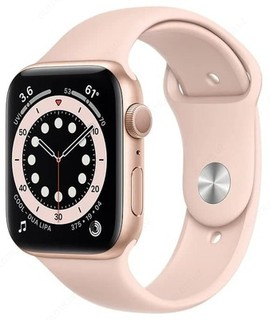 Умные часы Apple Watch Series 6 GPS 44mm (Gold,Red)