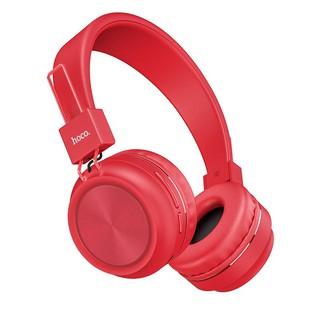 Наушники накладные Hoco W25 Promise red