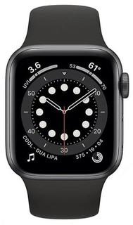 Умные часы Apple Watch Series 6 GPS 44mm (Black,Silver)