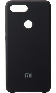 Чехол Soft Touch в Коробке Для Xiaomi Mi 8 Lite Black