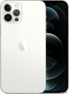 Смартфон Apple iPhone 12 Pro 128GB (серебристый) (56537)