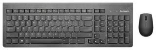 Клавиатура и мышь Lenovo 500 Combo Black