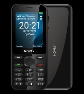 Телефон Novey 222c Black