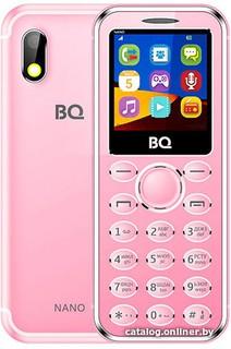Мобильный телефон BQ-Mobile BQ-1411 Nano (розовый) (59514)