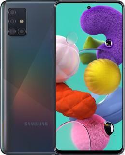 Смартфон Samsung Galaxy A51 SM-A515F/DS 4GB/64GB (черный) (62107)