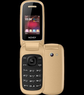 Телефон Novey 118 Gold