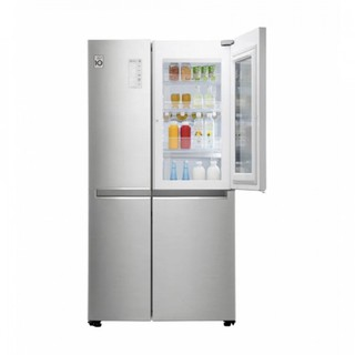 Холодильник LG GC-X247CADC Серебристый (Диспенсер)