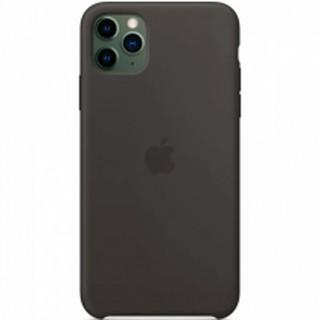Чехол Silicone Case для iPhone 11 Pro Max, черный