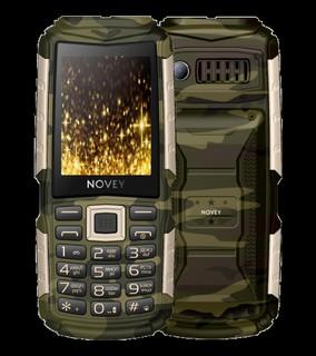 Телефон Novey T300 Tank Comouflage-gold
